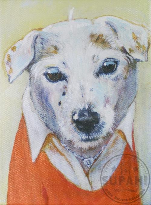 Bette Dog Portrait