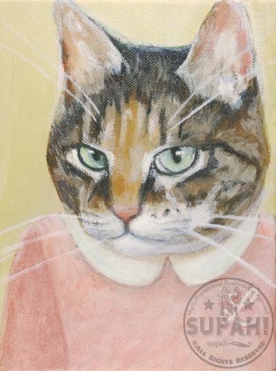 Lloyd Cat Portrait