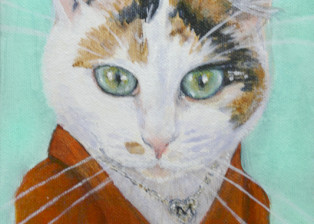 Meryl Calico Cat Portrait