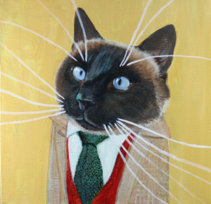 """Doug the Siamese"" was a Medium size commission"