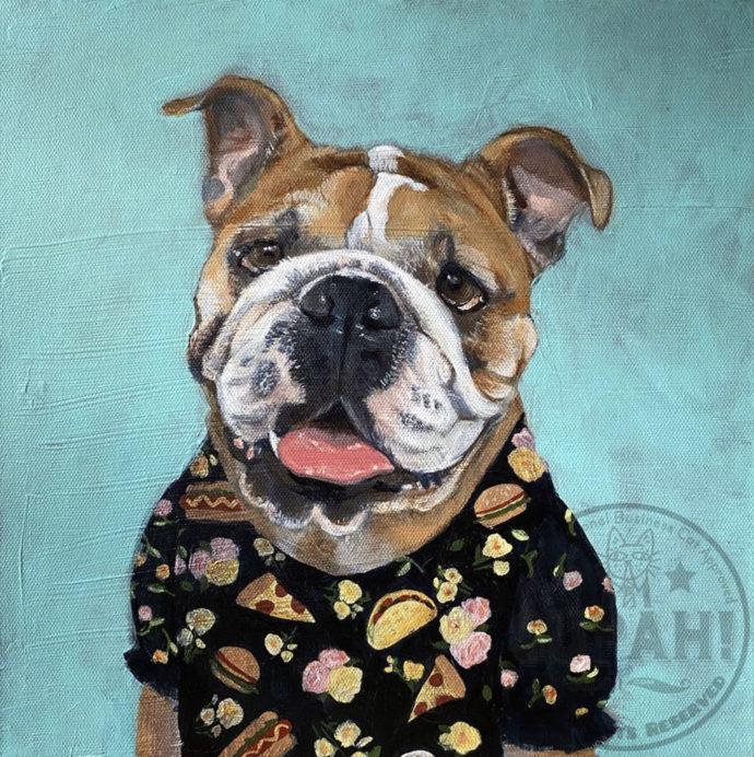 Zoe the Bulldog